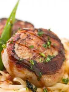 Grilled Large Sea Scallop